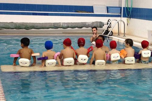 Estimulación acuática infantil